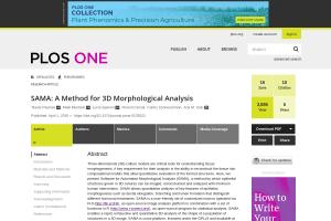 Documentation for SAMA: A Method for 3D Morphological Analysis