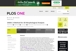 Documentation for SAMA: A Method for 3D Morphological Analysis