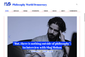 screenshot of Philosophy World Democracy