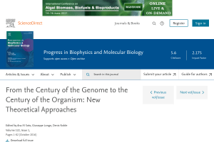 From the century of the genome to the century of the organism: New theoretical approaches