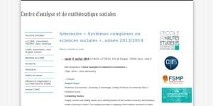 """Cover slide from the talk """"La notion de mesure : de la physique à la biologie."""""""