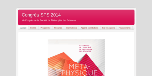 """Cover slide from the talk """"Objets physiques, objets biologiques."""""""