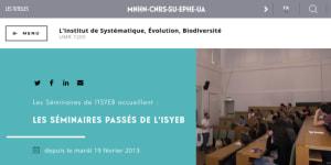 """Cover slide from the talk """"Enjeux de l'historicité du vivant pour la modélisation mathématique en biologie"""""""