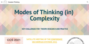 """Cover slide from the talk """"""""Reflecting team"""" intervention with Keynote commentators"""""""