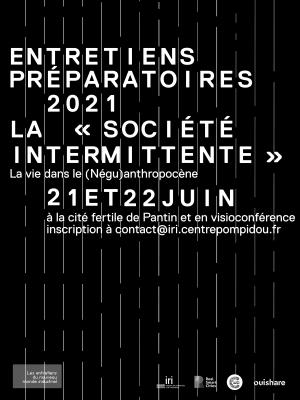 """Cover slide from the talk """"Intermittence, rythmes et anti-entropie dans le vivant"""""""
