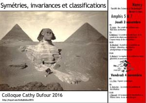 """Cover slide from the talk """"Asymétries et symétries en biologie: Allométrie, classification phylogénétique et biophysique"""""""