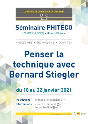 "Cover slide from the talk ""Bernard Stiegler et l'entropie"""