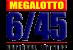 Mega Lotto 6/45 Logo