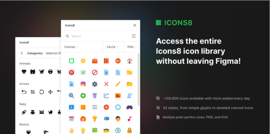 Figma Plugin for Icons