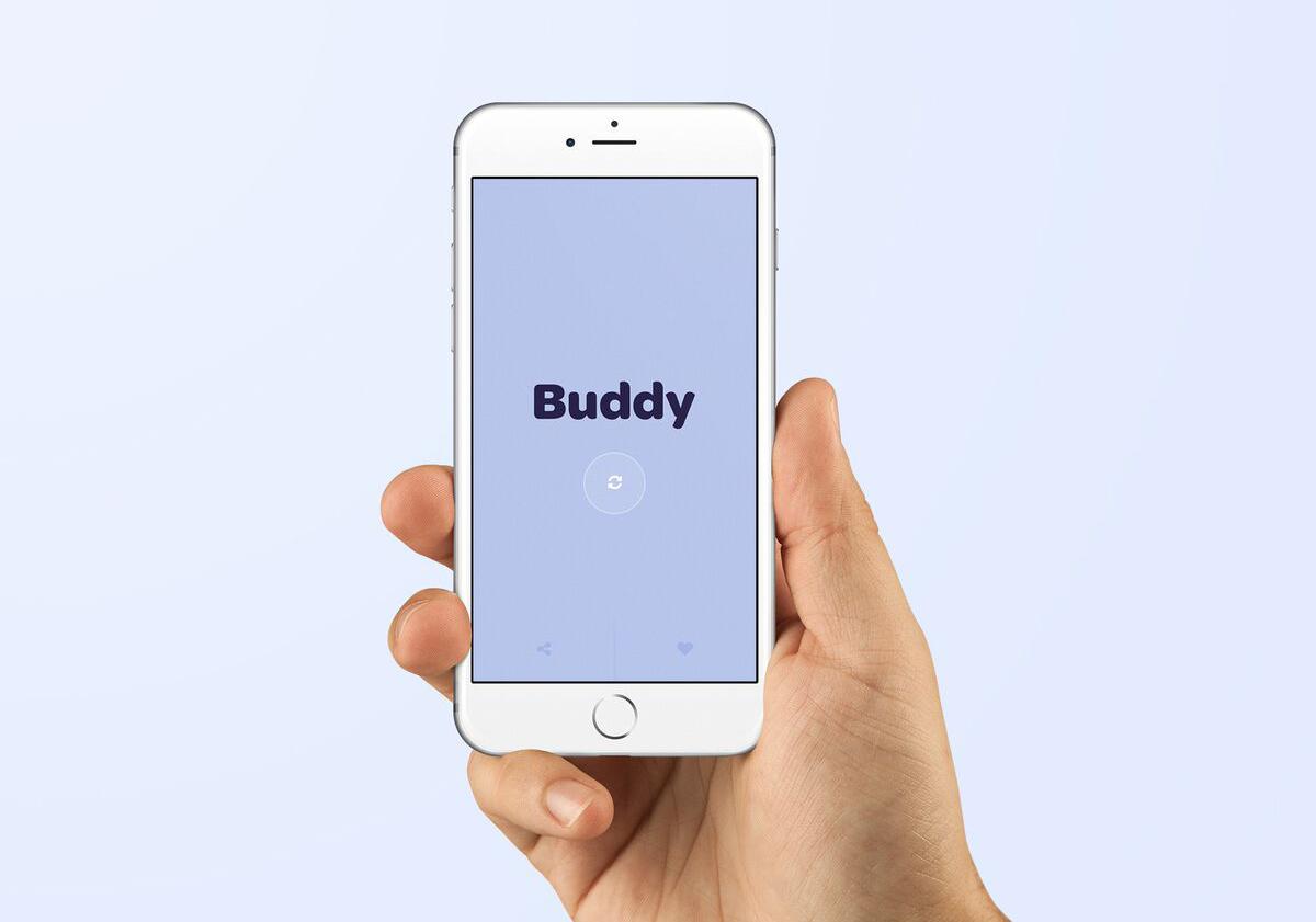 iPhone 6 hand mockup