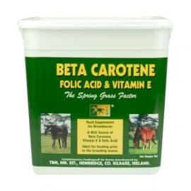 Beta Carotene, Folic Acid & Vitamine E