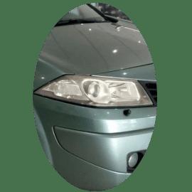 Phare avant droit Renault Megane 2 phase 2 Xenon noir
