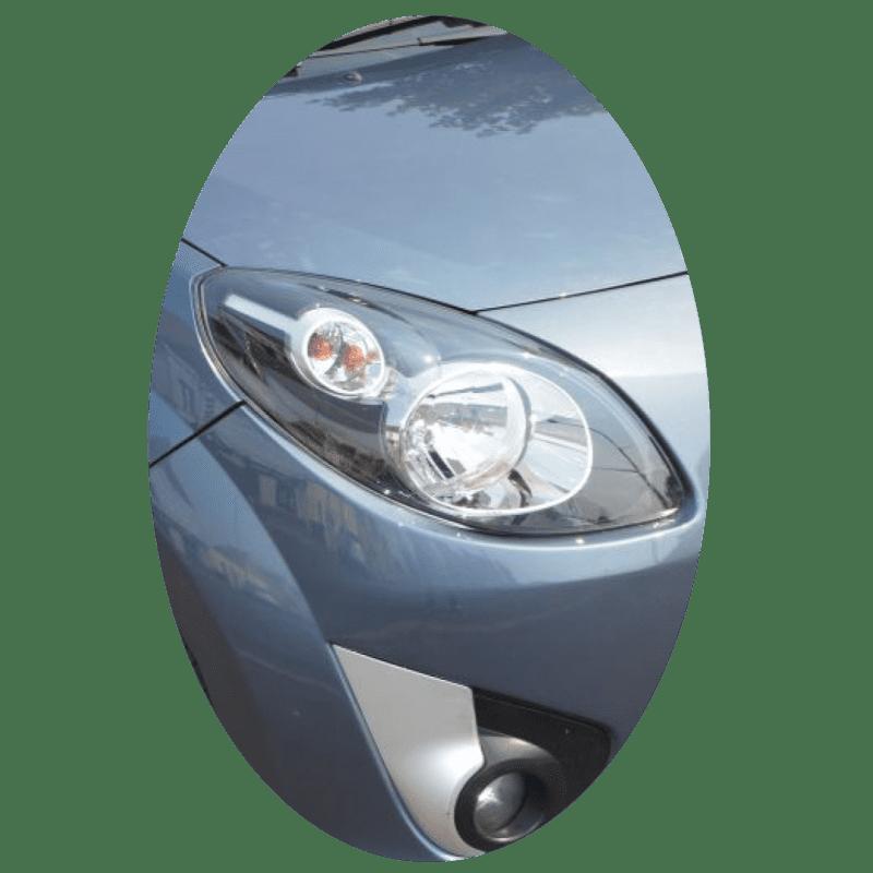 Phare avant droit Renault Twingo 2 phase 1 noir