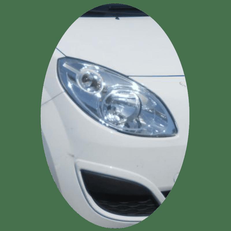 Phare avant droit Renault Twingo 2 phase 1 chrome
