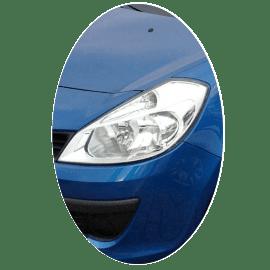 Phare avant gauche Renault Clio 3 phase 1 chrome