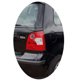 Feu arrière droit Volkswagen Polo IV phase 1 blanc