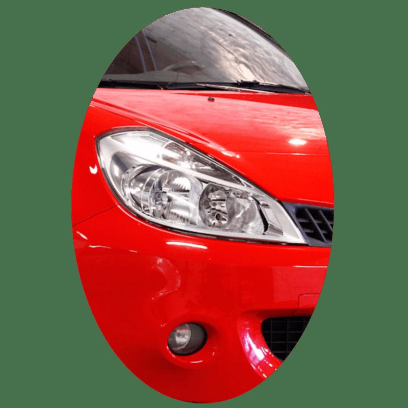 Phare avant droit Renault Clio 3 phase 1 chrome