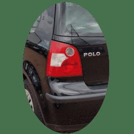 Feu arrière gauche Volkswagen Polo IV phase 1 blanc