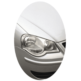 Phare avant droit Volkswagen Polo IV phase 2 chrome