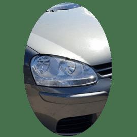 Phare avant droit Volkswagen Golf V  chrome