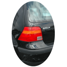 Feu arrière gauche Volkswagen Golf IV  orange