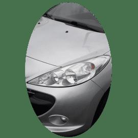 Phare avant gauche Peugeot 206+ phase 1