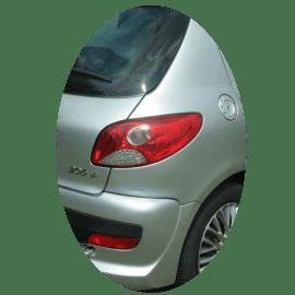 Feu arrière droit Peugeot 206+ phase 1