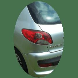 Feu arrière gauche Peugeot 206+ phase 1