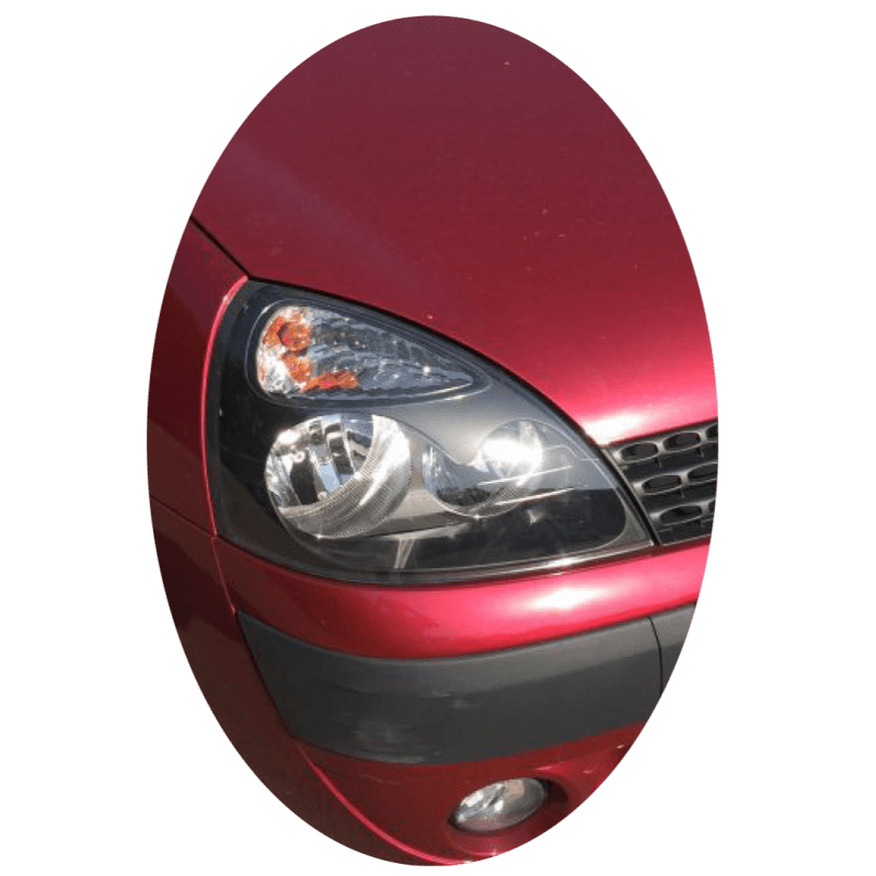 Phare avant droit Renault Clio 2 phase 2 noir