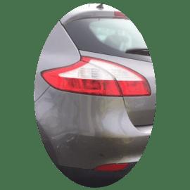 Feu arrière gauche Renault Megane 3 phase 1 secondaire