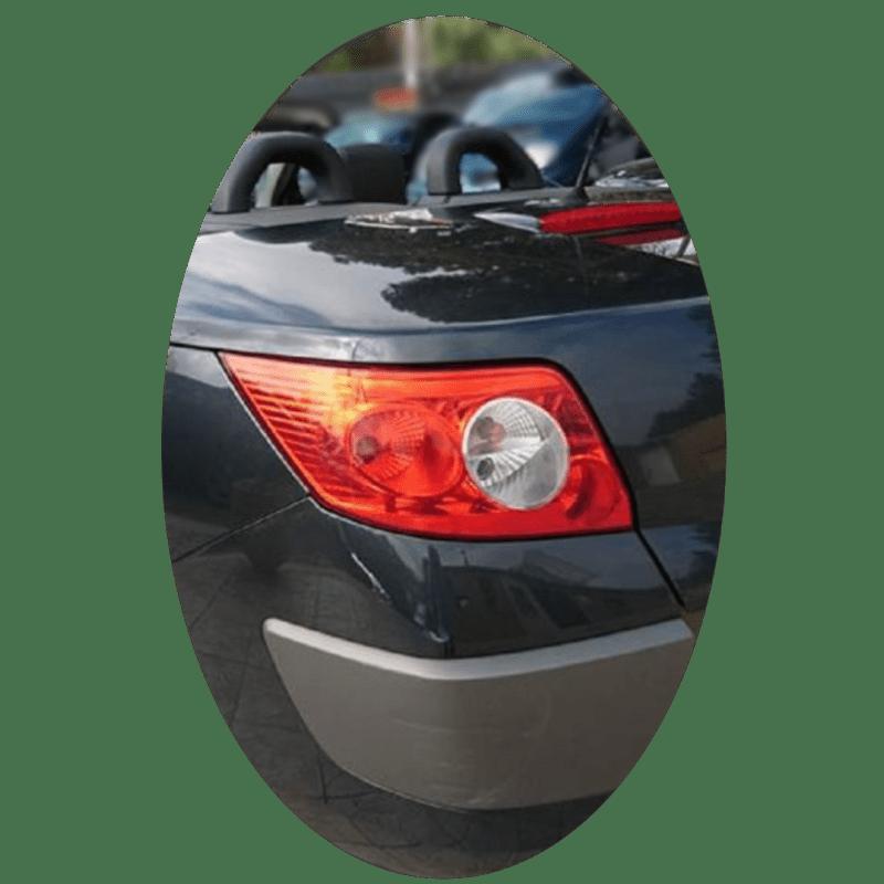 Feu arrière gauche Renault Megane 2 CC phase 1