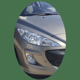 Phare avant droit Peugeot 308 phase 1