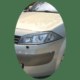 Phare avant gauche Renault Megane 2 phase 1 Xenon