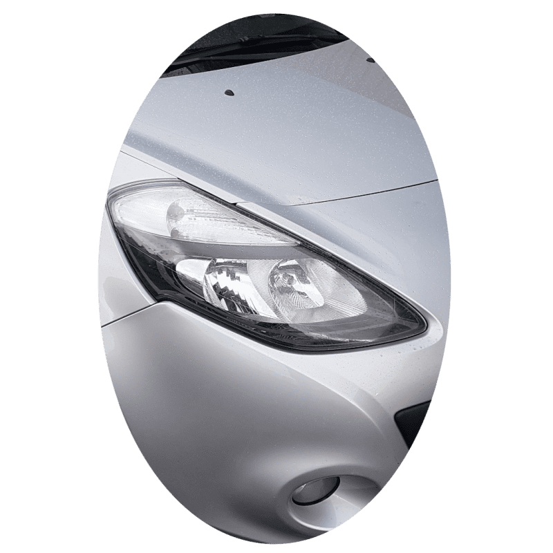 Phare avant droit Renault Clio 3 phase 2 noir