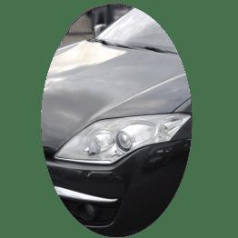 Phare avant gauche Renault Laguna 3 phase 1 Xenon directionnel chrome