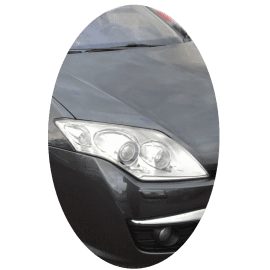 Phare avant droit Renault Laguna 3 phase 1 Xenon directionnel chrome