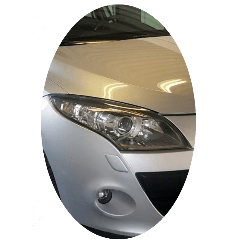 Phare avant droit Renault Megane 3 phase 1 Xenon directionnel chrome