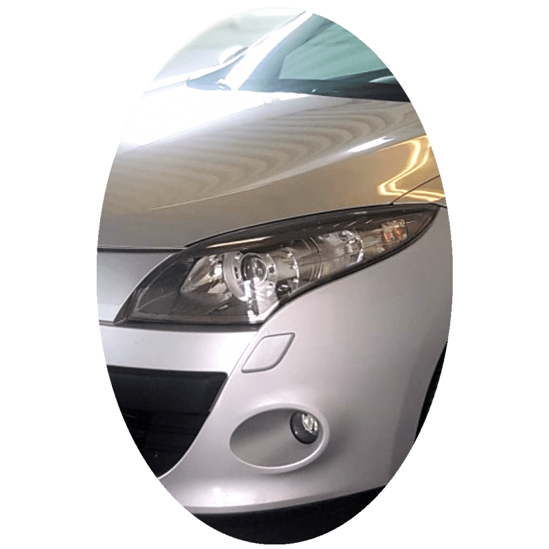 Phare avant gauche Renault Megane 3 phase 1 Xenon directionnel chrome
