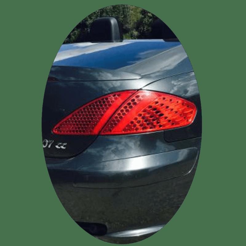 Feu arrière droit Peugeot 307 CC phase 1 et 2 LED secondaire