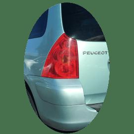Feu arrière gauche Peugeot 307 SW phase 1