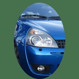 Phare avant droit Renault Clio 2 phase 2 Xenon gris