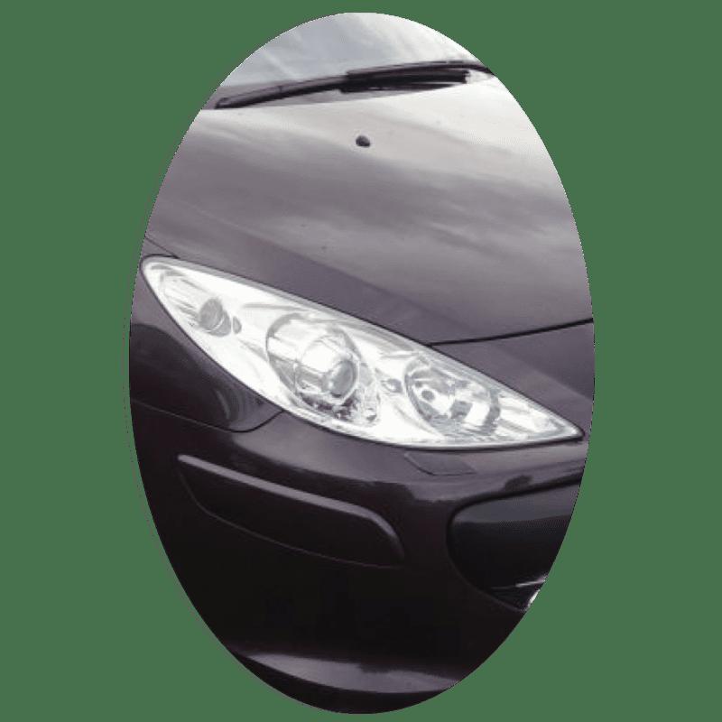 Phare avant droit Peugeot 307 phase 2 Xenon directionnel