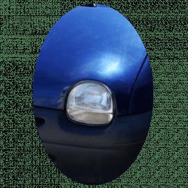 Phare avant gauche Renault Twingo 1 phase 2 en verre strié