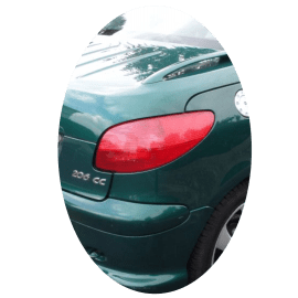 Feu arrière droit Peugeot 206 CC phase 1