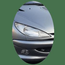 Phare avant droit Peugeot 206 phase 1