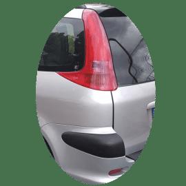 Feu arrière gauche Peugeot 206 SW phase 1