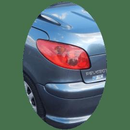Feu arrière gauche Peugeot 206 CC phase 2