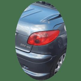 Feu arrière droit Peugeot 206 CC phase 2