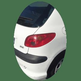 Feu arrière droit Peugeot 206 phase 2