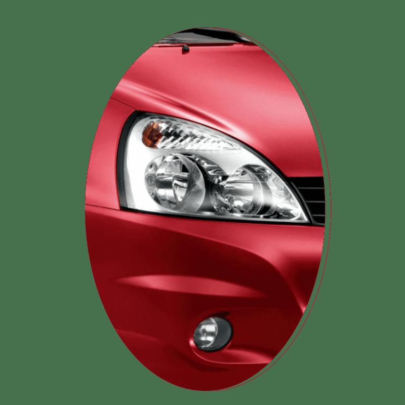 Phare avant droit Renault Clio 2 phase 2 chrome